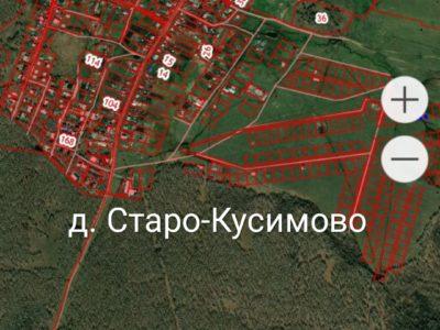Дом 40 м² в д.Кусимово