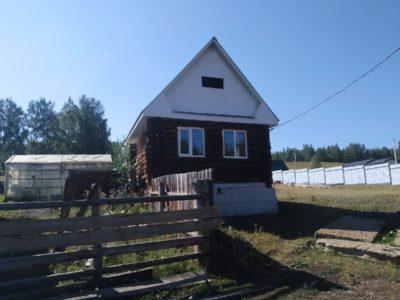 Дом 57 кв.м. в деревне Даутово